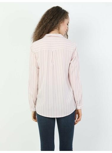Colin's Regular Uzun Kol Gömlek Pembe